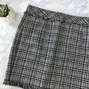 Trina Turk Tweed Mini Skirt